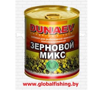 """Добавка для прикормки металлобанка  - """"DUNAEV"""" / «Зерновой MIX» 320 мл."""