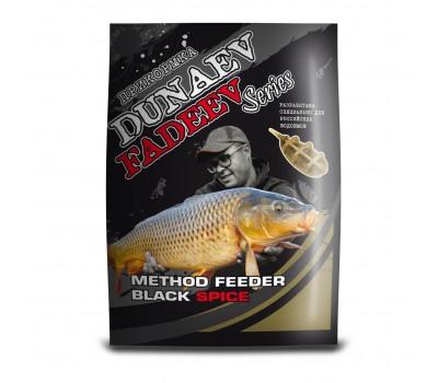 """DUNAEV-FADEEV"" 1кг Method Feeder Black Spice"