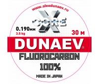 Леска Dunaev Fluorocarbon 0.190мм 30м