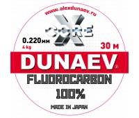Леска Dunaev Fluorocarbon 0.220мм 30м