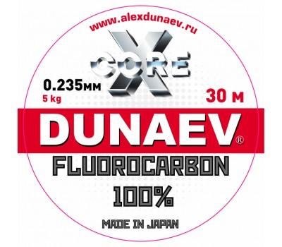 Леска Dunaev Fluorocarbon 0.235мм 30м