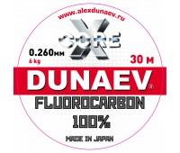 Леска Dunaev Fluorocarbon 0.260мм 30м