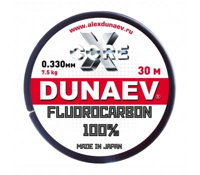 Леска Dunaev Fluorocarbon 0.330мм 30м