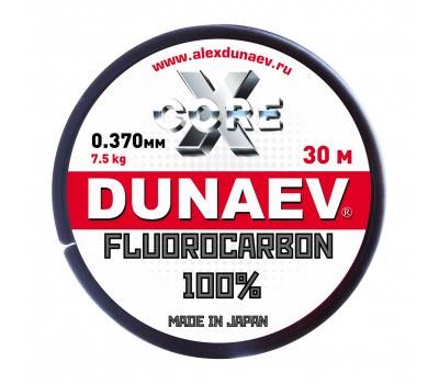 Леска Dunaev Fluorocarbon 0.370мм 30м