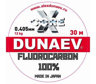 Леска Dunaev Fluorocarbon 0.405мм 30м