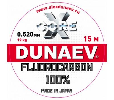 Леска Dunaev Fluorocarbon 0.520мм 15м