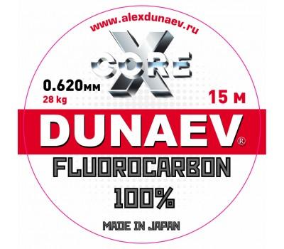 Леска Dunaev Fluorocarbon 0.620мм 15м