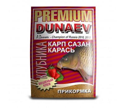 """DUNAEV-PREMIUM"" 1кг Карп-Сазан Клубника"