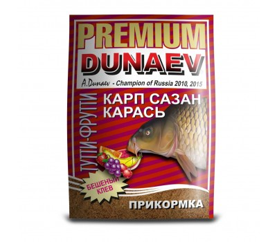 """DUNAEV-PREMIUM"" 1кг Карп-Сазан Тутти-Фрутти"