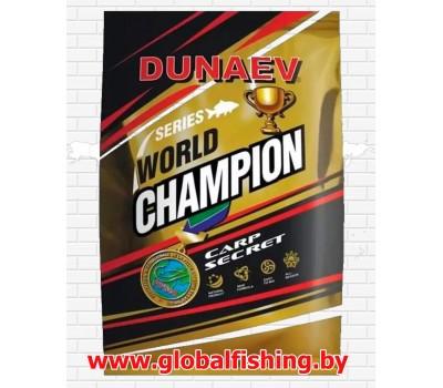 "Прикормка - ""DUNAEV"" / (WORLD CHAMPION) / «Carp Secret» 1 кг."