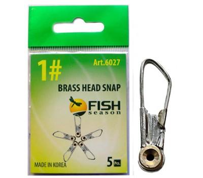 Застёжка Brass Head Snap #1