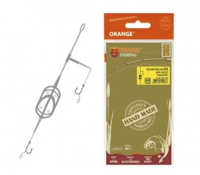 Оснастка карповая orange №33 arc flat metod leadcore 30 гр.