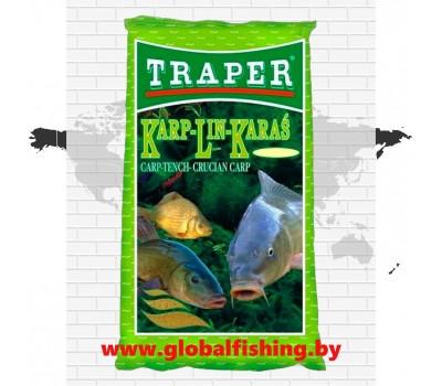 "Прикормка -""TRAPER"" ( ПОПУЛЯРНАЯ )  «Karp-Lin-Karaś» ."