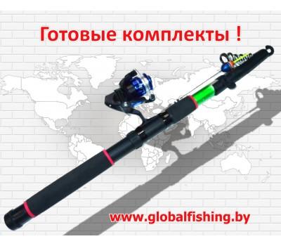 """Рыболовный набор - """" Fish-Ka 3"""" ( удочка оснащенная 4,5 м. ) ."""