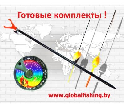 """Рыболовный набор - """" Fish-Ka 2"""" ( удочка оснащенная 3,6 м. ) ."""