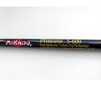 Удилище маховое Mikado Princess 6.00 м. тест: 10-30 гр.