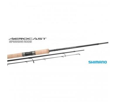 Спиннинг Shimano Aerocast ML 2.70м. тест: 7-21 гр.
