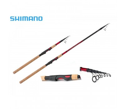 Спиннинг Shimano Catana EX Telespin ML 2.40м. тест: 7-21 гр.