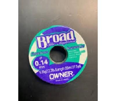 Леска Owner Broad 0.14мм 25м