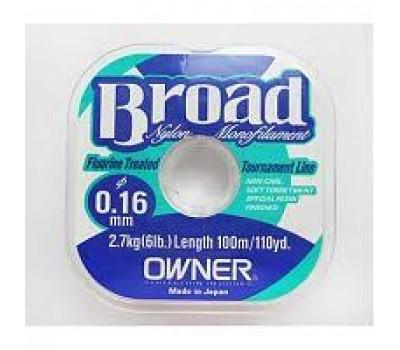 Леска Owner Broad 0.16мм 25м