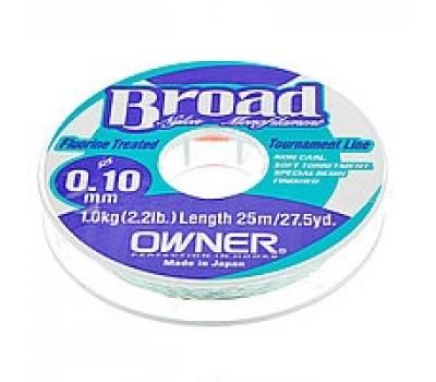 Леска Owner Broad 0.10мм 25м